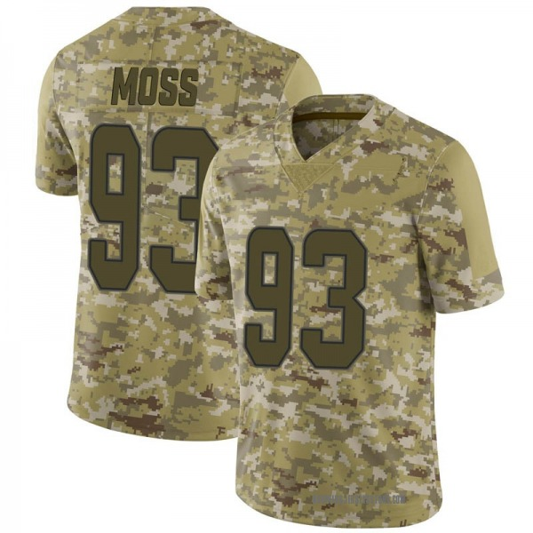 Youth Avery Moss Miami Dolphins Limited Camo 2018 Salute to Service Jersey